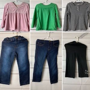 3 outfit bundle 3T girls winter clothing